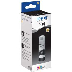Epson 104 C13T00P140, 65ml, Ecotank Printer Ink, Black