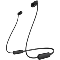 Sony WIC200BCE7, In-Ear, Wireless Headphones, Black, Son