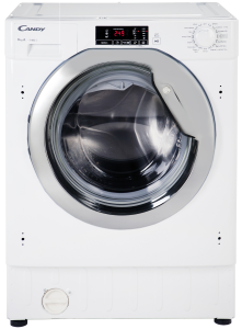 Candy CBWM814DC, 8kg, 1400 Spin, Integrated Washing Machine, White