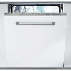 Candy CDI1LS38S Full Size Integrated Dishwasher, White