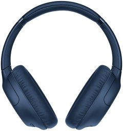 Sony WHCH710NLCE7, Noise Cancelling, Over-ear Bluetooth Headphones, Blue