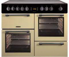 Leisure CK100C210C, Cookmaster, 100cm, All Electric, Range Cooker, Cream