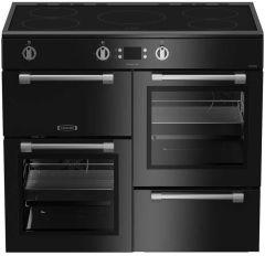 Leisure CookMaster, CK100D210K, 100cm, Induction, Range Cooker, Black