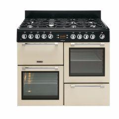 Leisure CK100F232C, Cookmaster, 100cm, Dual Fuel, Range Cooker, Cream