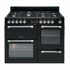 Leisure CK100F232K, Cookmaster, 100cm, Dual Fuel, Range Cooker, Black