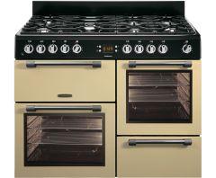 Leisure CK110F232C, 110cm, Dual Fuel, Range Cooker, Cream