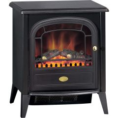 Dimpex CLB20E, Club Log Effect, Electric Stove, Black