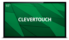 Clevertouch 15465CAP, Pro Series 65 Inch Capacitive Touch, Interactive Touch Screen