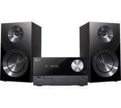 LG CM2460DAB, 1000W, Bluetooth Micro Hi-Fi System, Black