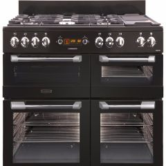 Leisure CS110F722K, 110CM, Cuisine Master, Dual Fuel, Range Cooker, Black