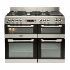 Leisure CS110F722X, 110cm, Cuisine Master, Dual Fuel, Range Cooker, Stainless Steel