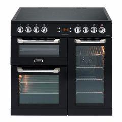 Leisure CS90C530K, Cuisinemaster, 90cm, Electric, Triple Oven, Range Cooker, Black