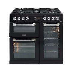 Leisure CS90F530K, Cuisinemaster, 90cm, D/F, Triple Oven, Range Cooker, Black