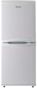 Candy CSC1365WE, 136 x 54CM, Freestanding, Fridge Freezer, White