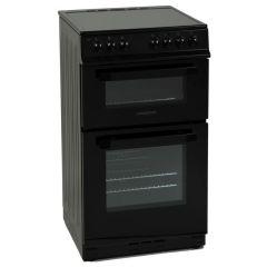 NordMende CTEC51BK, 50CM, Electric Cooker, Black