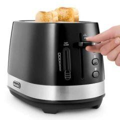 DeLonghi CTLA2003BK, Active Line, 2 Slice Toaster, Black