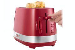 DeLonghi CTLA2003R, Active Line, 2 Slice Toaster, Red
