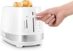 DeLonghi CTLA2003WH, Active Line, 2 Slice Toaster, White