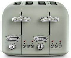 Delonghi CT04GR, 4 Slice Toaster, Green