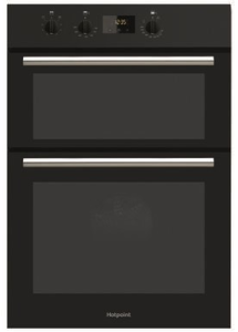 Hotpoint DD2540BL, Built-in, Double Oven, Black