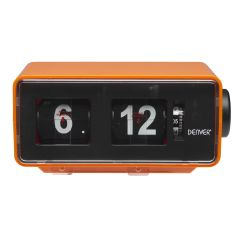 Denver CR425, Retro Clock Radio W/ Alarm Function, Orange