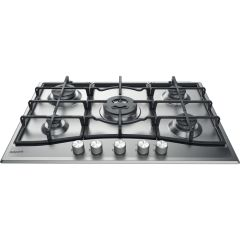 Hotpoint PCN751TIX, 77cm, Gas Hob, Stainless Steel