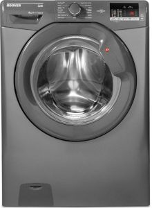 Hoover DHL 1482DR3R Freestanding 8kg Washing Machine, Graphite