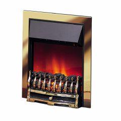 Dimplex WYN20BR, Wynford Brass, Inset Coal, Optiflame Fire
