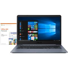 "Asus E406MABV009TS, 14"" Laptop, 8GB/64GB with Office 365, Grey"