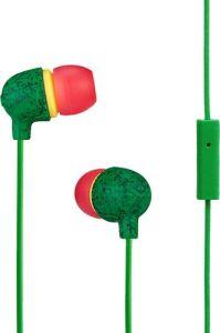 Marley EMJE061RA, Little Bird, In Ear Rasta Earphones