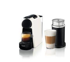 Magimix 11372, Essenza + Aeroccino, Nespresso, Coffee Machine, White