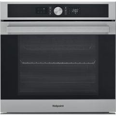 Hotpoint SI5851CIX Multiflow Single Oven, Series 5, 71 Litres, Catalytic Liners, Stainless Steel