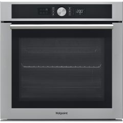 Hotpoint SI5854PIX, Pyro Single Oven, Stainless Steel