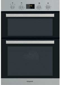Hotpoint DKD3841IX, Double Oven, Stainless Steel