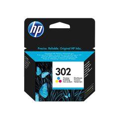 HP F6U65AE, 302 Tri-colour, Original Ink Cartridge