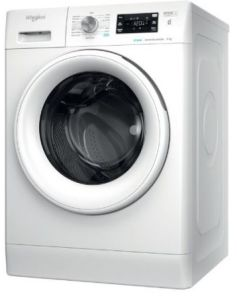 Whirlpool FFB8448WVUK, 8KG, 1400rpm, FCare+, Washing Machine, White