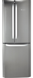 Hotpoint,FFU3D1X, Fridge Freezer, Stainless Steel