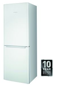 Hotpoint, FFUL1913P1, Fridge Freezer, White