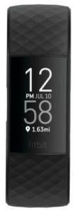 Fitbit 79FB417BKBK, Charge 4, GPS, Fitness Tracker, Black