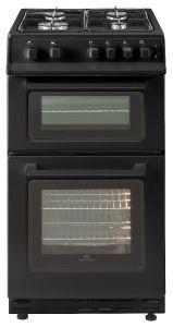 Bellling FSG50TCBLKLPG, 50cm, Freestanding Gas Cooker, Black