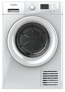 Whirlpool FTCM108BUK, 8KG, Freshcare+, Condenser Dryer, White
