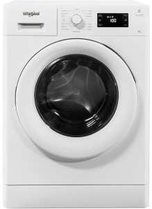Whirlpool FWG81496WUK, 8KG, 1440rpm Spin, Freshcare+ Washing Machine, White