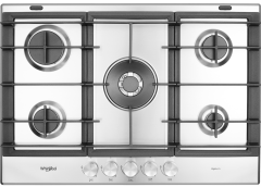 Whirlpool, GMW7552IXL, Gas Hob, Stainless Steel