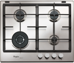 Whirlpool, GMW9552IXL, Gas Hob, Stainless Steel