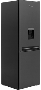 Hotpoint H8A1ESBWTD, 60cm, Water Dispenser,Fridge Freezer, Silver & Black