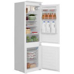 Hoover HBBS100UK, 177  x 54 cm, 70/30 Split, Integrated Fridge Freezer, White