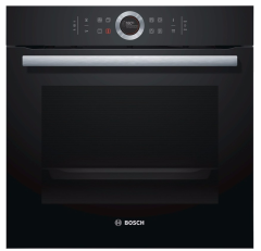 Bosch HBG674BB1B, Pyroclean, Built In Single Oven, Black