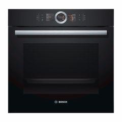 Bosch HBG6764B6B, Built In Single Oven, Black