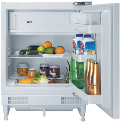 Hoover HBRUP164K, 82 x 59.2 cm, Undercounter, Integrated Fridge, with 4 Star Freezer