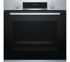 Bosch HBS534BS0B Single Oven - Black W/Steel